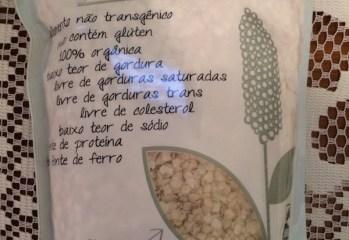Quinoa em Flocos Nature Crops