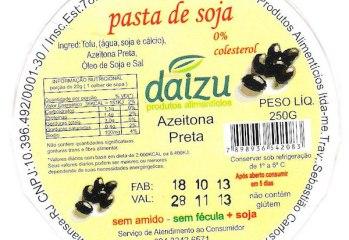 Pasta de Soja Azeitona Preta Daizu