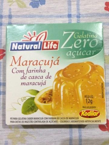 Gelatina Zero Maracujá Natural Life