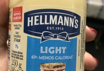 Maionese Light Hellmann's