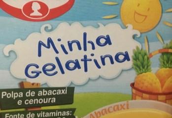 Minha Gelatina Abacaxi Dr. Oetker