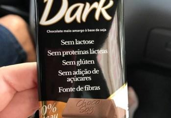 Chocolate Meio Amargo Dark 50% Cacau Choco Soy