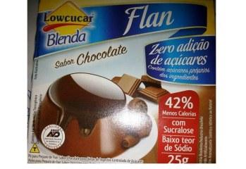 Flan Chocolate Zero Lowçúcar