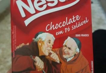 Chocolate em Pó Solúvel 50% Cacau Dois Frades Nestlé