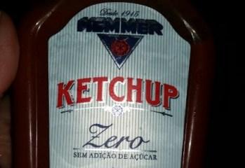 Ketchup Zero Adição de Açúcar Hemmer