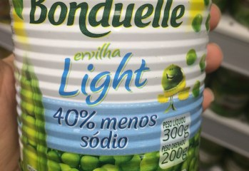 Ervilha Light Bonduelle
