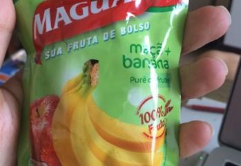 Purê de Maçã e Banana Maguary