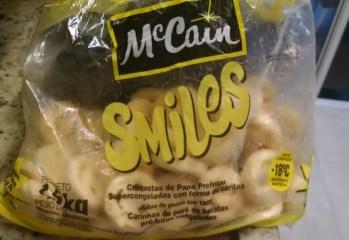 Carinhas de Purê de Batatas Smiles Mc Cain
