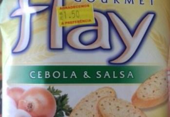 Snacks Cebola e Salsa Flay Parati
