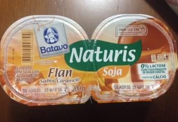 Flan sabor Caramelo Naturis Soja Batavo