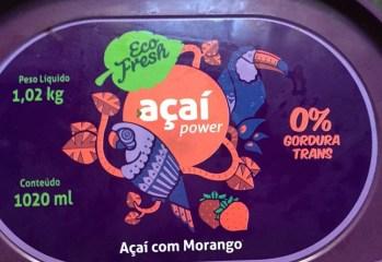 Açaí com Morango Açaí Power Eco Fresh