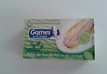 Filés de Sardinha em Óleo com Limão Gomes da Costa
