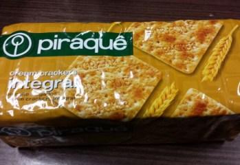 Biscoito Cream Crackers Integral Piraquê