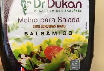 Molho para Salada Balsâmico Dr Dukan