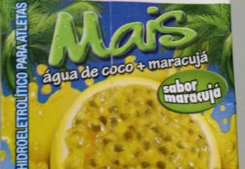 Bebida Hidroeletrolítica Água de Coco e Maracujá Sococo