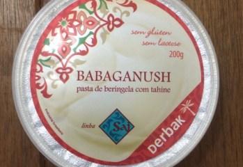 Pasta de Beringela com Tahine Babaganush Derbak