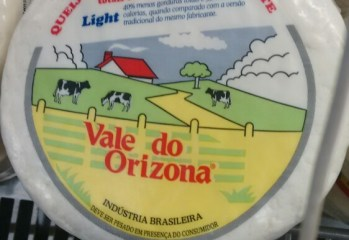 Queijo Frescal Light Vale do Orizona