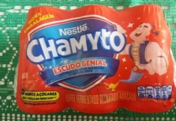 Leite Fermentado Desnatado Adoçado Chamyto Nestlé