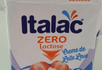 Creme de Leite Leve Zero Lactose Italac