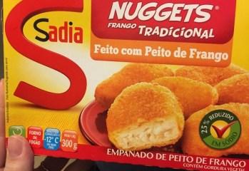 Nuggets Frango Tradicional Sadia