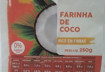 Farinha de Coco Unico Alimentos