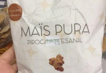 Pipoca Artesanal sabor Caramelo e Flor de Sal Mais Pura