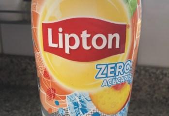Chá Preto Pêssego Ice Tea Zero Lipton