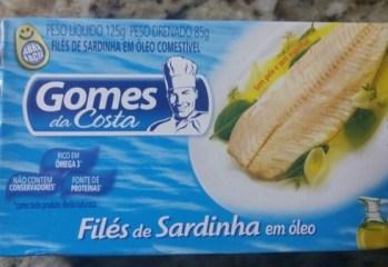 Filé de Sardinha em Óleo Gomes da Costa