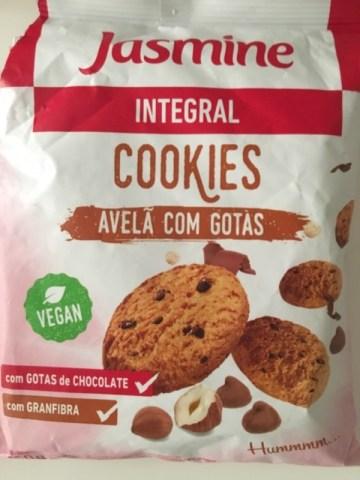 Cookies Integral Avelã com Gotas de Chocolate Jasmine