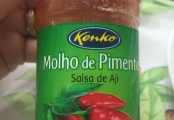 Molho de Pimenta Salsa de Aji Kenko