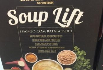 Sopa Frango com Batata Doce Soup Lift Essential Nutrition