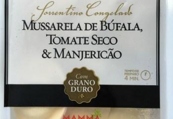 Sorrentino Congelado Mussarela de Búfala Tomate Seco e Manjericão Forno de Minas