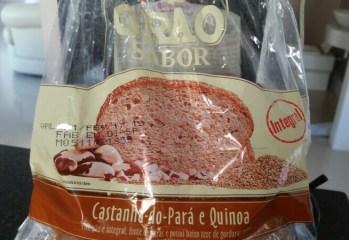 Pão Castanha-do-Pará e Quinoa Grão Sabor Wickbold