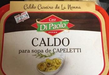Caldo para Sopa de Capeletti Di Paolo