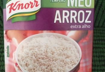 Tempero Meu Arroz Extra Alho Knorr