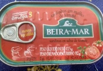 Sardinhas em Molho de Tomate Beira Mar