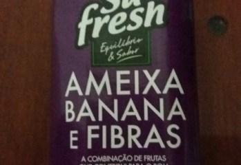 Bebida Mista de Ameixa, Banana e Fibras Sú Fresh