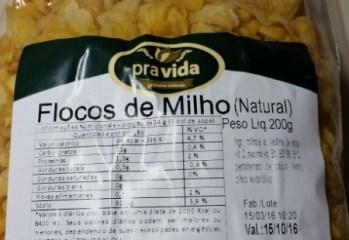 Flocos de Milho Natural Pra Vida
