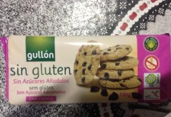 Biscoito com Gotas de Chocolate Diet Gullón