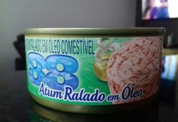 Atum Ralado em Óleo 88