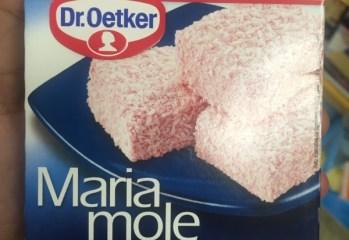 Maria Mole Morango Dr. Oetker