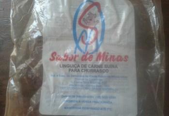 Linguiça de Carne Suína Sabor de Minas
