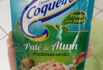 Pate de Atum Azeitonas Verdes Coqueiro