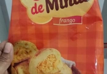 Pao de Queijo com Recheio de Frango So de Minas