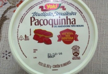 Pacoquinha de Amendoim Tipo Rolha Yoki
