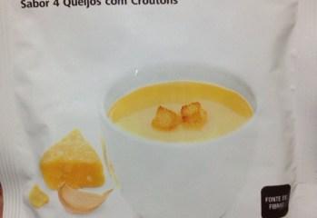 Sopa Instantanea 4 Queijos com Croutons Herbalife