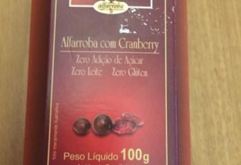 Alfarroba com Cranberry Zero Carob House