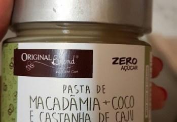 Pasta de Macadâmia + Coco e Castanha de Caju Zero Original Blend