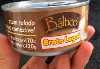 Atum Ralado em Óleo Comestível Báltico Broto Legal