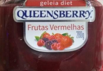 Geleia de Frutas Vermelhas Diet Queensberry